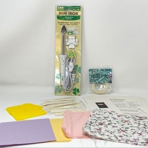 Fabric Flower Kit and Iron